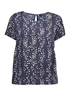 Only T-shirt onlDITTE FIRST S/S TOP WVN 15153766 Night Sky/FLOWER PRI