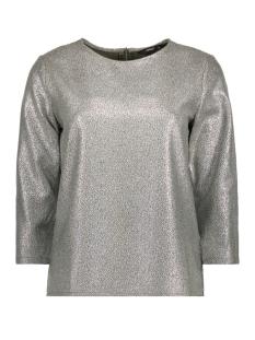 Only T-shirt onlDANA 3/4 BLOUSE WVN 15154224 Kalamata/SILVER FOI