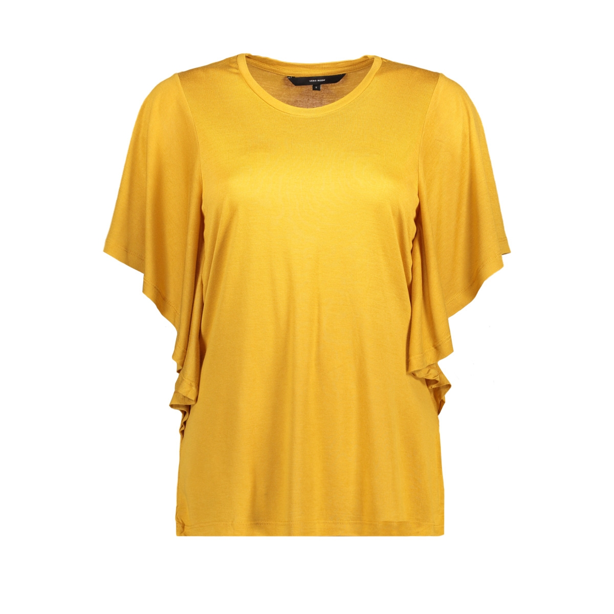 vmirfi s/s top sb8  10193608 vero moda t-shirt harvest gold