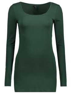 Vero Moda T-shirt VMMAXI MY LS SOFT LONG U-NECK NOOS 10152908 Pine Grove