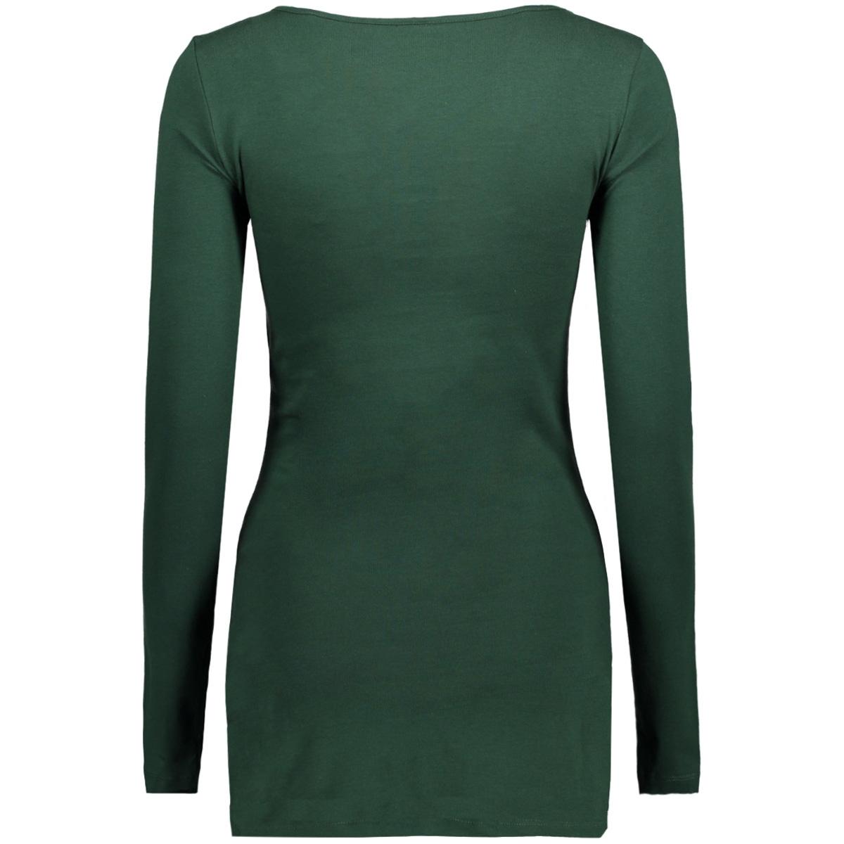 vmmaxi my ls soft long u-neck noos 10152908 vero moda t-shirt pine grove
