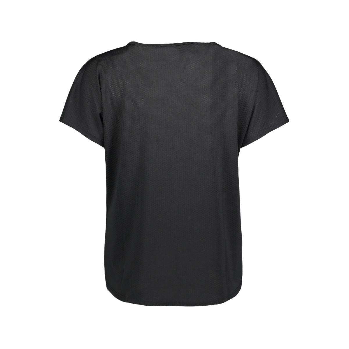 onpvineda short training tee prs 15139517 only play sport shirt black/ tornado