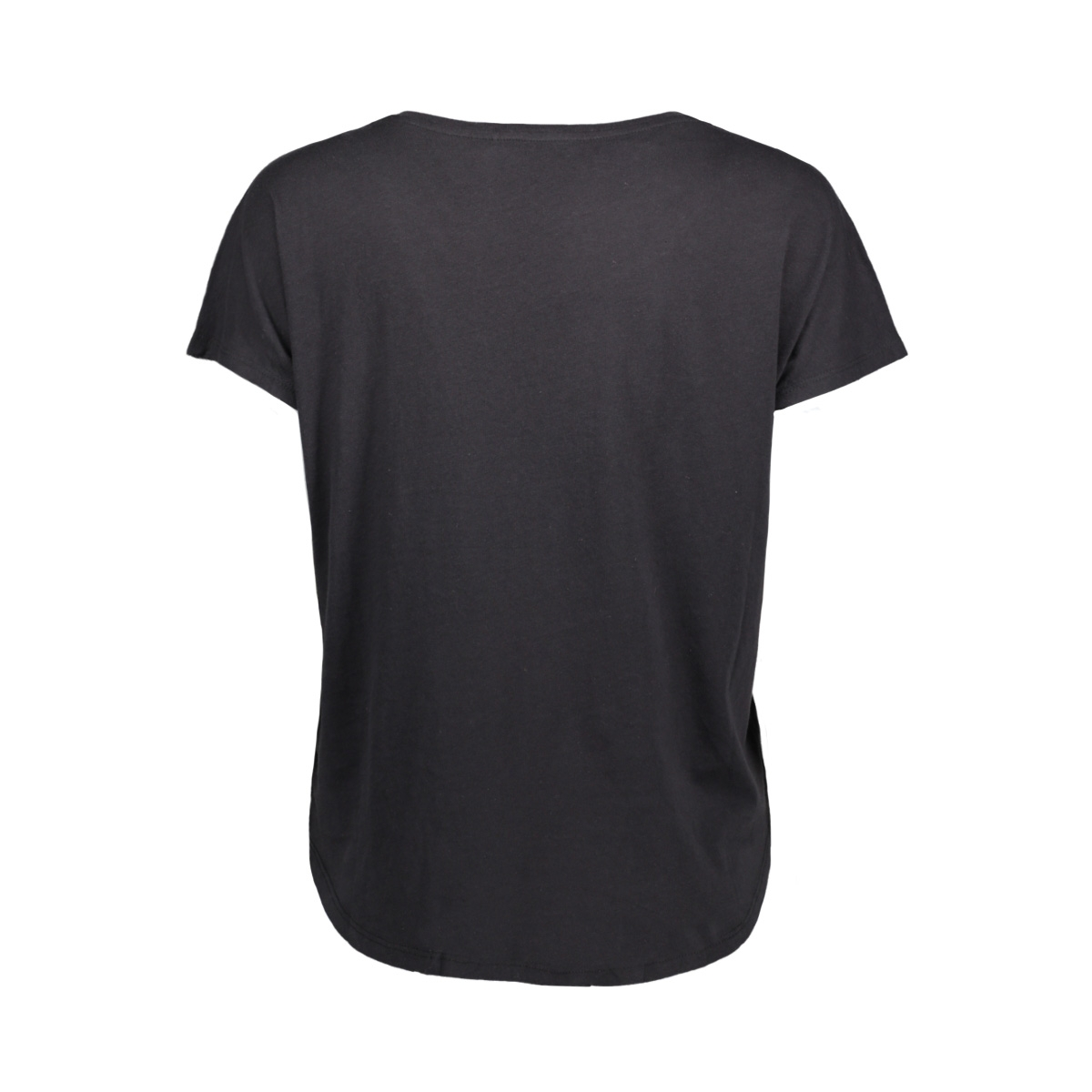 onpleslie loose ss tee prs 15139526 only play sport shirt black/tornado