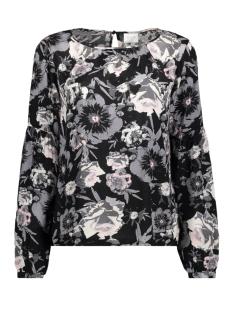 Vila T-shirt VIASTHA L/S TOP 14044806 Black/BLACK COMB