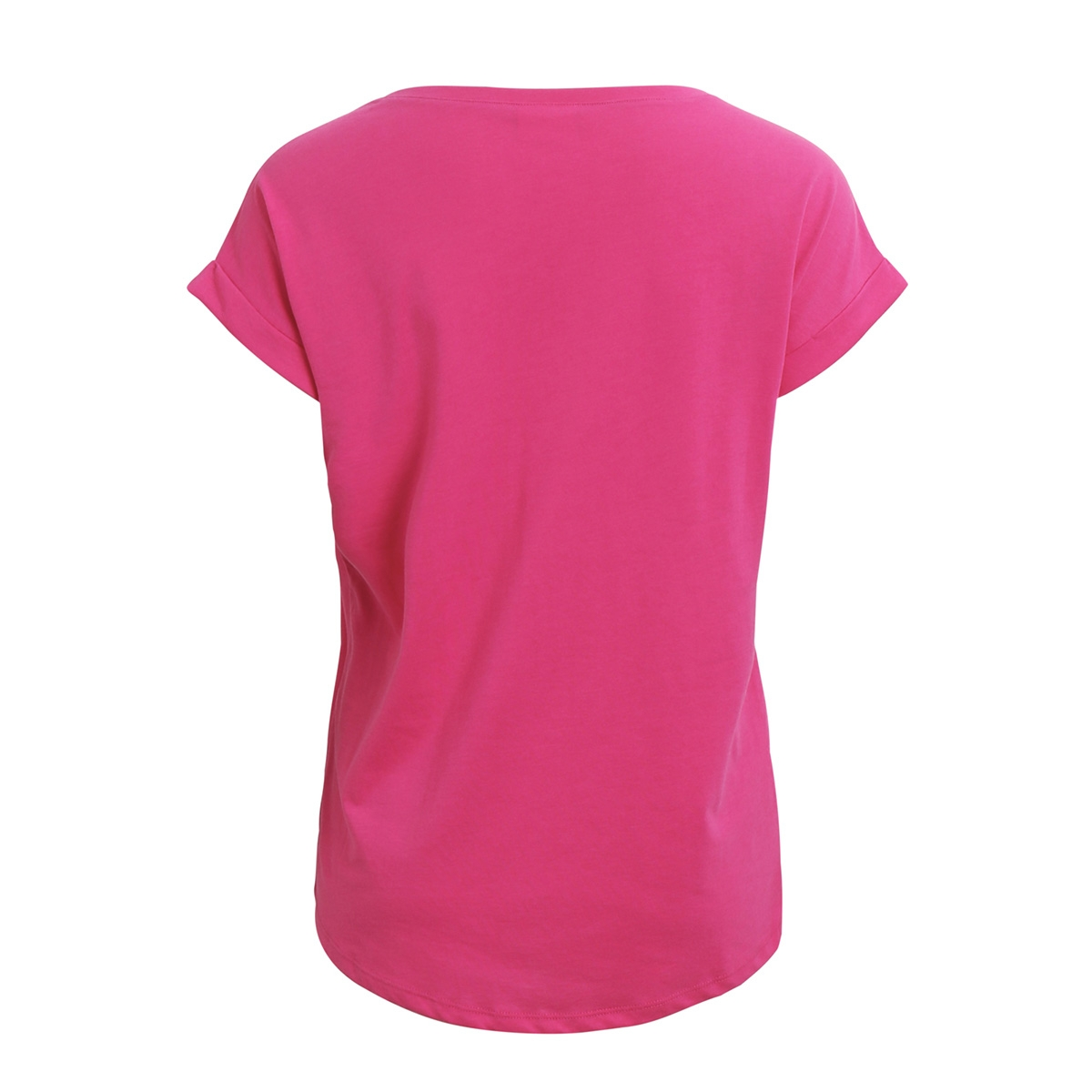 vidreamers pure t-shirt-fav 14043506 vila t-shirt beetroot purple