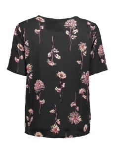 jdyrun s/s top wvn 15143225 jacqueline de yong t-shirt black/run small