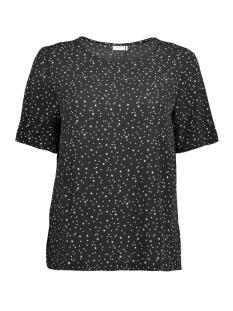 Jacqueline de Yong T-shirt JDYRUN S/S TOP WVN 15143225 Black/Run stars
