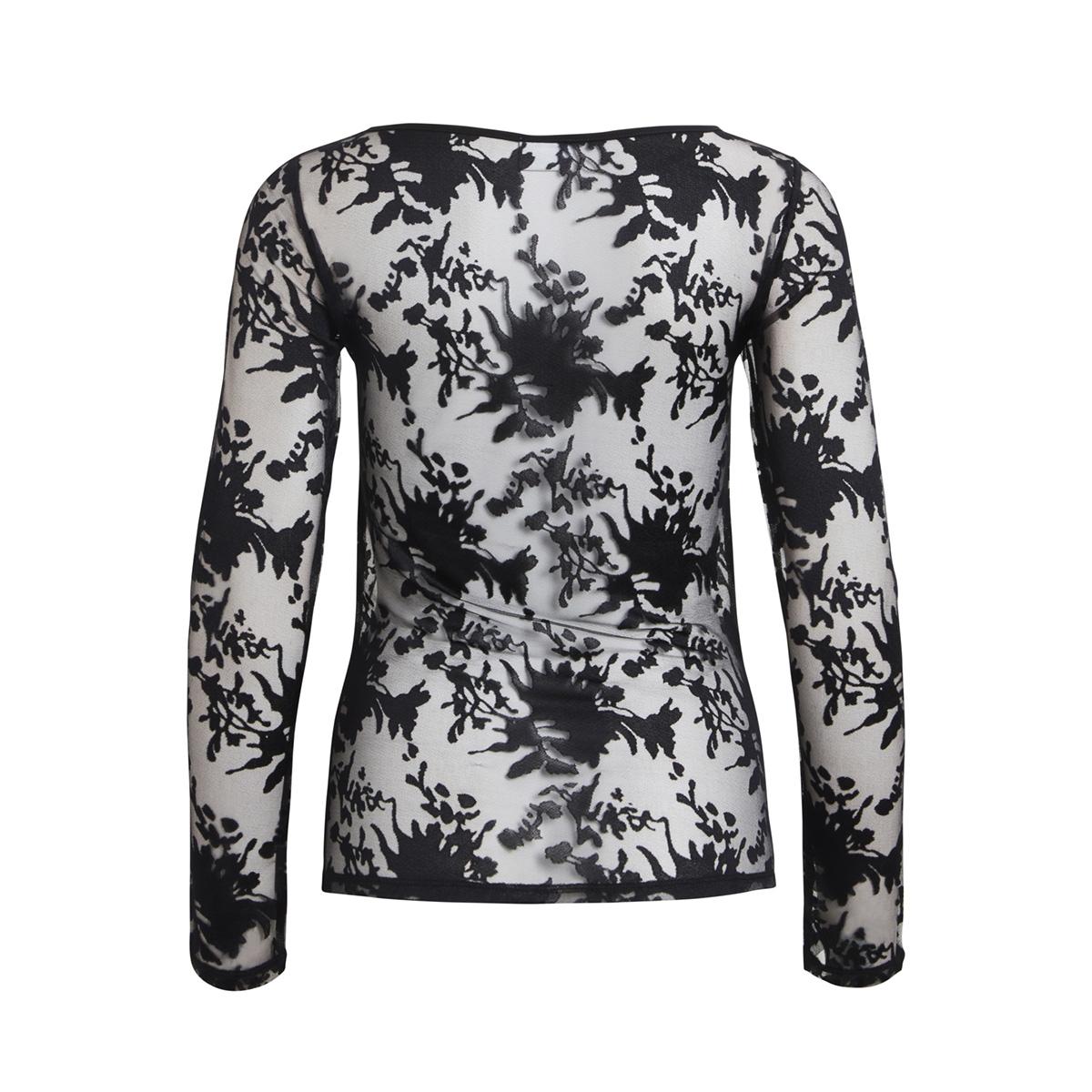 vitur top 14045139 vila t-shirt black