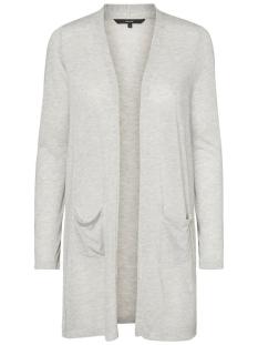 Vero Moda Vest VMWILMA LS CARDIGAN NOOS 10181703 Light Grey Melange