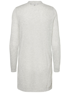 vmwilma ls cardigan noos 10181703 vero moda vest light grey melange