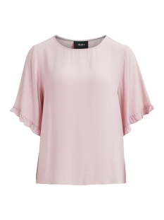 Object T-shirt OBJGIA 2/4 TOP .I 95 23025898 Pink Nectar