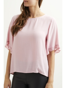 objgia 2/4 top .i 95 23025898 object t-shirt pink nectar