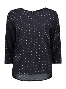 Only T-shirt onlMESA LUX AOP 3/4 SLEEVE TOP WVN 15147645 Night Sky/ Winter Dot