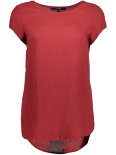 Vero Moda T-shirt BOCA SS BLOUSE COLOR 10104053 Sun Dried Tomato