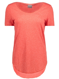 Vero Moda T-shirt VMLUA SS TOP NOOS 10149900 Poppy Red