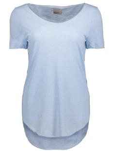 Vero Moda T-shirt VMLUA SS TOP NOOS 10149900 Cashmere Blue