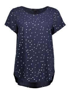 Vero Moda T-shirt VMFOIL SNOW S/S TOP NFS 10190008 Navy Blazer / Foil Silver