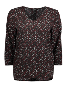 Vero Moda T-shirt VMSATIFA 3/4 TOP D2-1 10193044 Black / Satifa Lyc