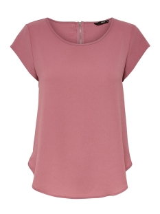 Only T-shirt onlVIC S/S SOLID TOP NOOS WVN 15142784 Mesa Rose