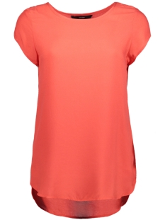 Vero Moda T-shirt BOCA SS BLOUSE NOOS 10104030 Poppy Red