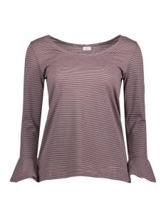 Jacqueline de Yong T-shirt JDYCLOUD 3/4 O-NECK TOP JRS 15147739 Quail/BLACK