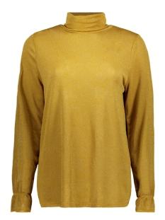 Luba T-shirt GLITTER TOP OKER