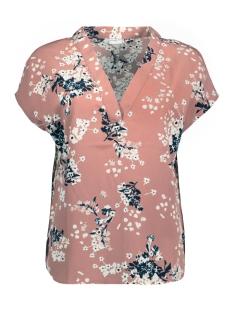 Jacqueline de Yong T-shirt JDYAMELIA S/S TOP WVN 15146300 Burlwood/AMELA SMA