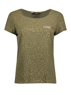 Vero Moda T-shirt VMSASHA SS TOP A PRINTED 10192088 Ivy Green