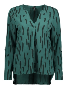 Vero Moda Blouse VMBALI V-NECK L/S TOP SB3 10200819 Bayberry/BETTY