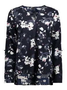Vero Moda Blouse VMBALI V-NECK L/S TOP SB3 10200819 Night Sky/BILLIE