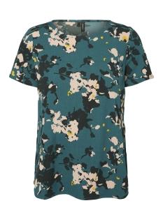 Vero Moda T-shirt VMBALI SLIT S/S TOP SB3 10200825 Bayberry/BILLIE