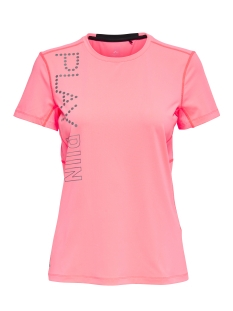 Only Play Sport shirt onpRIDA RUN SS TEE 15145660 Lipstick Pink