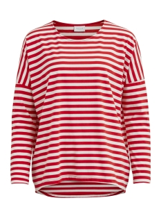 Vila T-shirt VIDREAMERS STRIPE L/S TOP 14036475 Lollipop