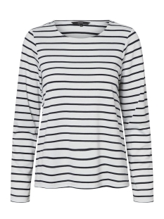 Vero Moda Trui VMNIRA L/S SWEAT D2-1 10193577 Snow White/Night Skye