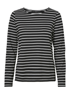 Vero Moda Trui VMNIRA L/S SWEAT D2-1 10193577 Black/Snow White