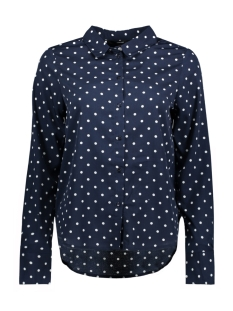 Vero Moda Blouse VMNICKY L/S SHIRT D2-1 10193878 Night sky/dot