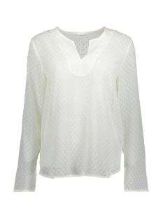 Jacqueline de Yong T-shirt JDYANABETH L/S BLOUSE WVN RD 15146335 Cloud Dancer