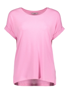 Only T-shirt onlMOSTER S/S O-NECK TOP NOOS JRS 15106662 Begonia Pink