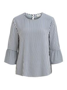vilinetta 3/4 sleeve top 14044931 vila t-shirt cloud dancer / vilinetta