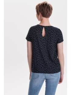 onlfirst ss mix aop top  noos wvn 15138761 only t-shirt night sky/cloud small star