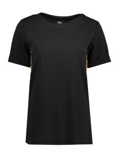 Luba T-shirt ROMY STREEP TOP GEEL GEEL