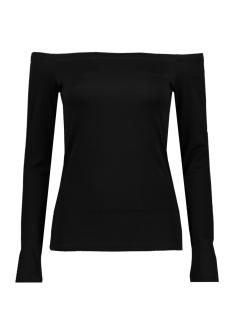 Only T-shirt onlBONNIE L/S OFF SHOULDER TOP JRS15151423 Black