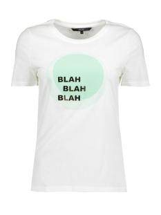 Vero Moda T-shirt VMJENNY S/S T-SHIRT D2-2  10196223 Snow White/HEMLOCK
