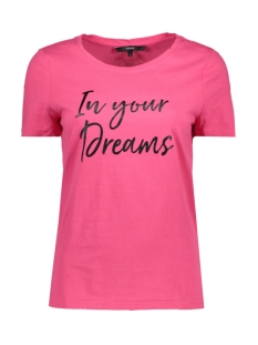 Vero Moda T-shirt VMJOY S/S FOIL TEE D2-2 10195655 Azalea