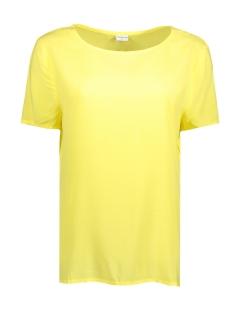 Jacqueline de Yong T-shirt JDYANN S/S TOP WVN 15146313 Lemon Zest
