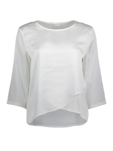 Jacqueline de Yong T-shirt JDYAMANDA 3/4  BLOUSE WVN 15146301 Cloud Dancer