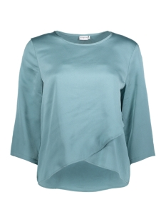 Jacqueline de Yong T-shirt JDYAMANDA 3/4  BLOUSE WVN 15146301 Stone Blue