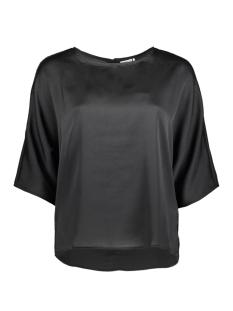 Jacqueline de Yong T-shirt JDYAMANDA 2/4 TOP WVN 15146297 Black