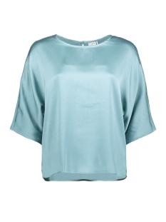 Jacqueline de Yong T-shirt JDYAMANDA 2/4 TOP WVN 15146297 Stone Blue