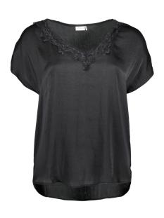 Jacqueline de Yong T-shirt JDYAPPA S/S LACE TOP WVN 15148133 Black/DTM LACE